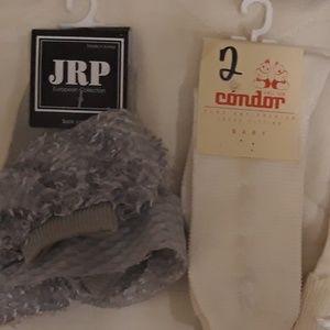 6 pairs infant/toddler designer socks